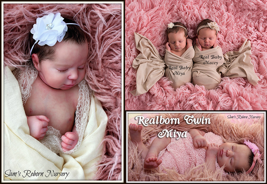 Realborn® Miya Sleeping TWIN