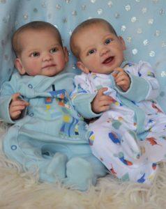 Reborn baby prototype twins