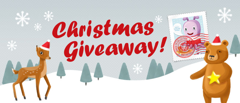 Christmas giveaway competition