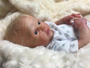 breathing reborn baby