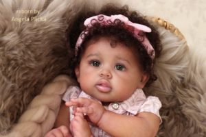 ethnic reborn baby