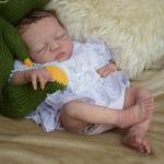 partial silicone baby