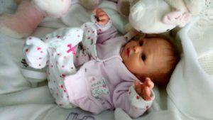 Anatomically correct reborn baby