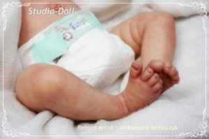 Adrie Stoete Reborn Baby