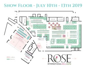 Rose doll show 2019