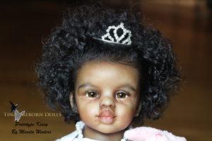 Ethnic prototype mini toddler doll