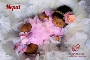 Ethnic reborn doll
