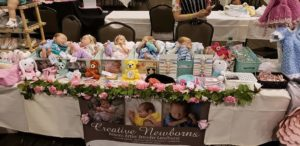 Rose doll show
