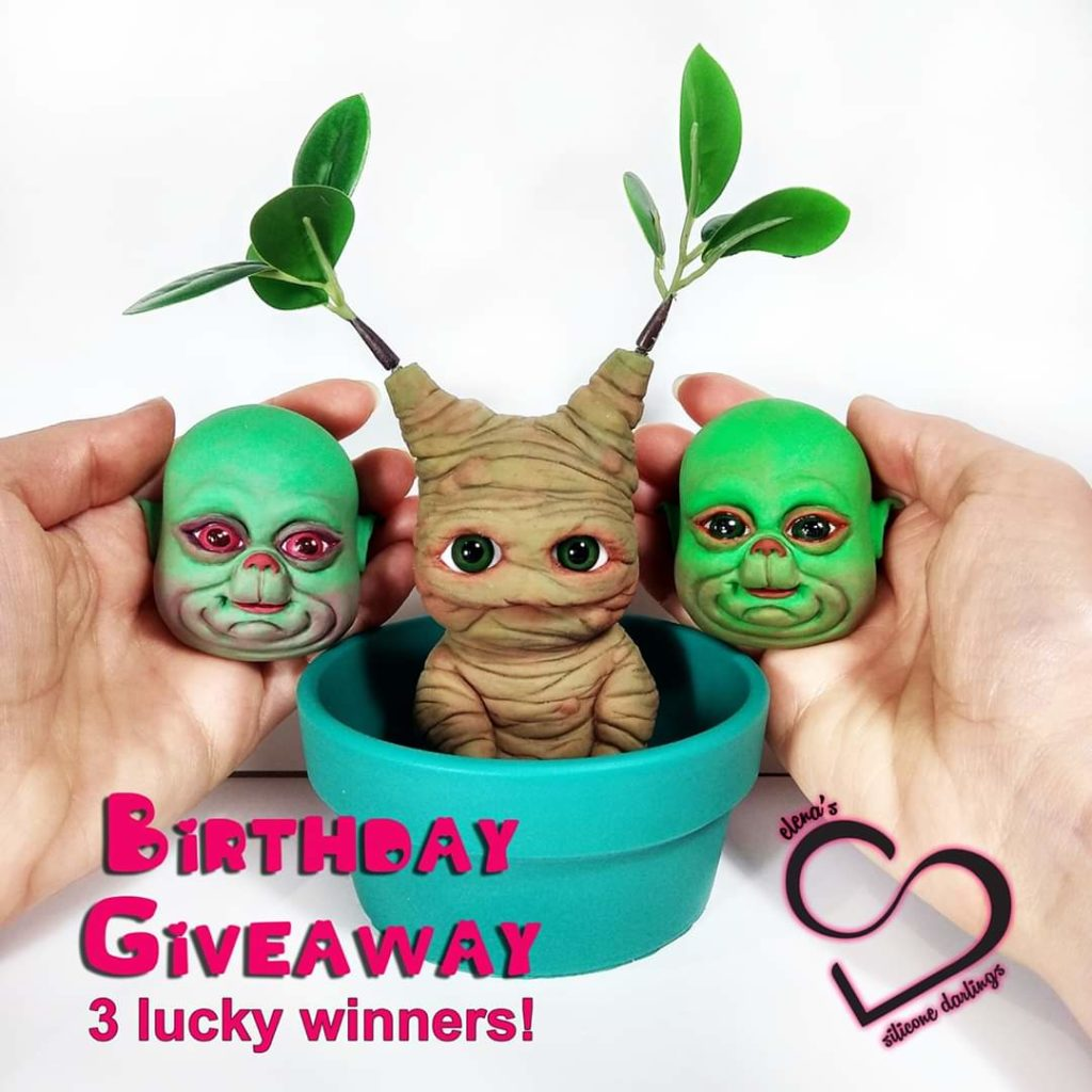 silicone doll giveaway
